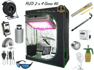Fans, Carbon Filters, LED Lights, Grow Tents (Grow Cannabis)