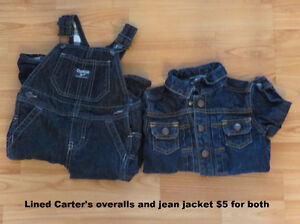 Baby clothing 6-12, 12 month and 12-18 months and bibs