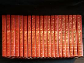 Children's Encyclopaedia Britannica 1970 complete set volume 1-20