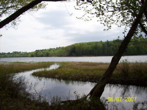 Approximately 3.5 acres of waterfront land