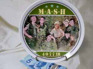 1982 M*A*S*H Collector plate