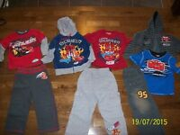 Disney Cars Outfits, Size 3-3X