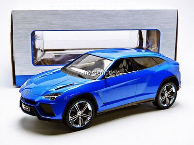 Mcg 2012 Lamborghini Urus Blue Metallic Color 1 18 Scale  New Release  In Stock