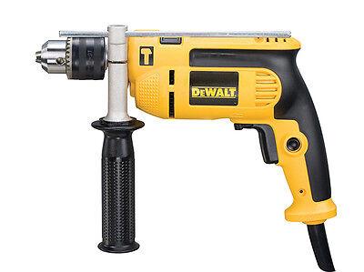 DEWALT DWD024K 240 VOLT 13mm Percussion Drill + Kitbox 650 Watt