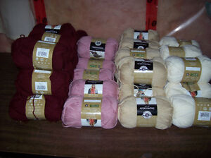 40 Assorted Balls of Loop Thread Impeccable Worsted Yarn