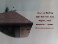 Contact Starson Roofing for Professional Quality Roofing