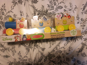 Melissa and Doug all aboard Winnie the pooh train