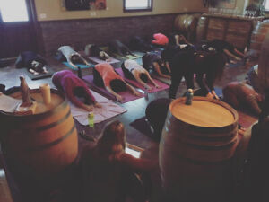 Intrigue Wines Events Yoga, Live Music, Wine & Cream Puffs!