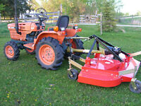 Kubota 4wd Diesel Tractor