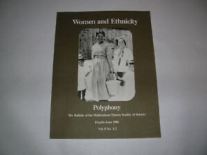 N.O.S. BOOK , WOMEN AND ETHNICITY, POLYPHONY