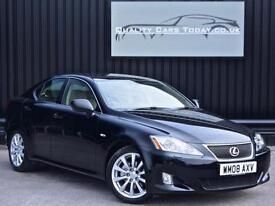 Lexus IS 250 2.5 V6 SE-L Automatic Auto * Black + Rich Cream + Full Spec *