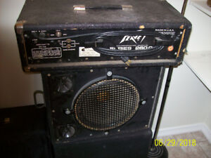 Peavey XR500 + Speakers $275
