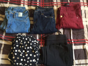 Name brand jeans and pants