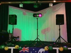 Disco speaker & light hire - NO DJ required!