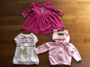 Crazy 8 & Gymboree Dress & Crazy 8 Sweater, Size 3-6 months