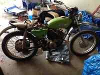 1980s Suzuki motor bike