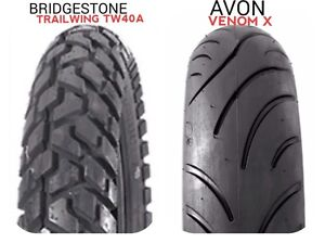 """2 Used 16"""" Motorcycle tires"""