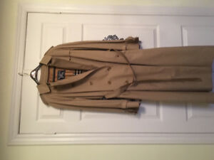 Burberry Ladies Long Trench Coat