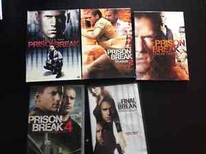 Toutes les saison de prison break en excellente condition