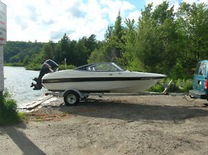 115 HP 17-foot Outboard Run-About