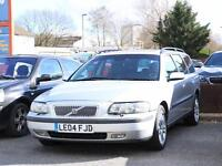 2004 Volvo V70 2.4 D5 Turbo Diesel SE Geartronic Auto Estate Sunroof Full Leathe