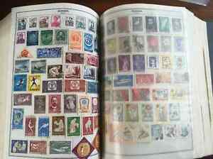 Stamp Collection - Approx 4500 Stamps - oldest circa 1840
