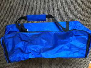 Champion Sports Deluxe Equipment Duffle Bag, Blue