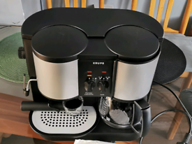 Krups coffee machine expresso /filter coffee