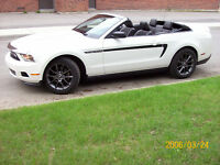 2012 Ford Mustang cuir Cabriolet