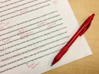Proofreading in English and French