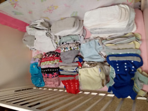 Best Buy, 35+ Cloth Diapers: for $95. Cost well over $400.00