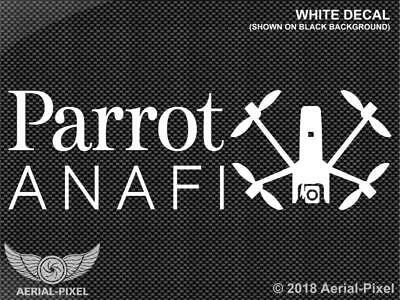 Parrot Anafi Drone Window / Case Decal Sticker Quadcopter UA