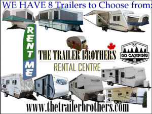 Home or Cottage Reno? Travel Trailers For Rent