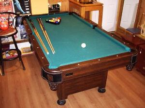 Small Halex Pool / Billiards table (slate)