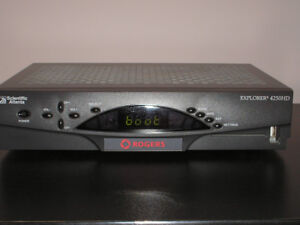 Digital rogers box kijiji in ontario buy sell save with rogers hd cable box explorer 4250hd sciox Choice Image