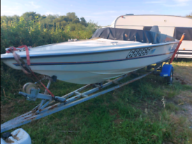 Speed Boat Driver 500 17ft 70hp Yamaha on Trailer