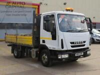 3.9 75E16K TIPPER 2D AUTO 160 BHP RWD 7500KG DIESEL TWIN WHEEL TIPPER 2012