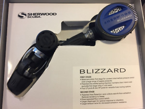 Diving regulator Sherwood blizzard new