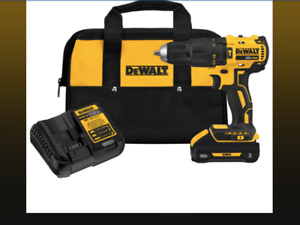 New DEWALT 20-Volt MAX XR Lithium Ion Brushless Hammerhead drill