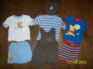 Disney Winnie The Pooh Outfits, Boys 24 month