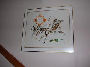 Indian art - Eastern First Nations artist
