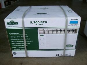 Window Air Conditioner and Dehumidifier For Sale