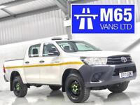 2017 TOYOTA HILUX HI-LUX NEW SHAPE LOW MILEAGE DOUBLE CAB PICKUP 2.4D-4D