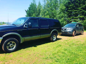 2000 ford excursion v10 4x4