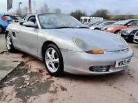 2000 W PORSCHE BOXSTER 2.7 PETROL 2DR CONVERTIBLE-LEATHER-NEW ENGINE
