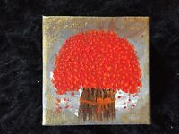 Abstract Tree Painting gift acrylic painting on canvas