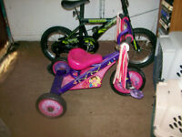 GIRLS AND BOY'S  TRICYCLE FOR SALE