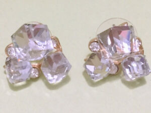 (3 Pairs Earrings Set) Bright Mixed (BRAND NEW) Diff. Shape