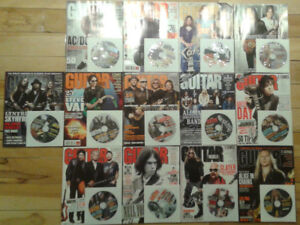 Guitar World Magazines (2009 Series, 13 total, 13 CD's included)