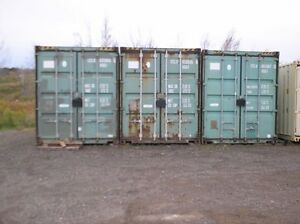 8' x 40' on site Container RENTAL downtown Moncton